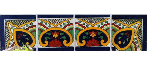 / Border Tile 4x4 inch (90 pieces) - Style CN-04